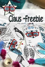 Freebie Claus Geschenke-Anhänger