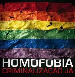 Criminalização da Homofobia Já