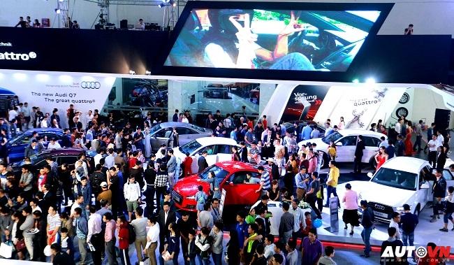 Gian hàng Audi tại VIMS 2015