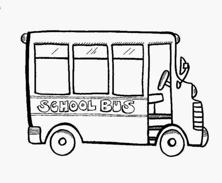 School bus coloring pages coloring pages for kids to print