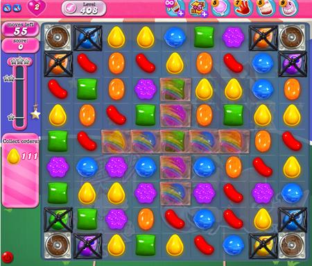 Candy Crush Saga 408