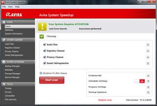 Avira System Speedup 1.2.1.8300