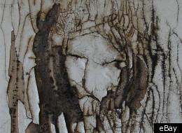 imagen de Jesucristo en una mecedora