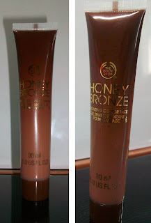 The Body Shop Honey Bronze Face Gel