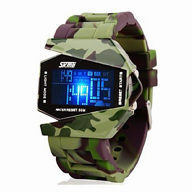 Reloj LED Militar
