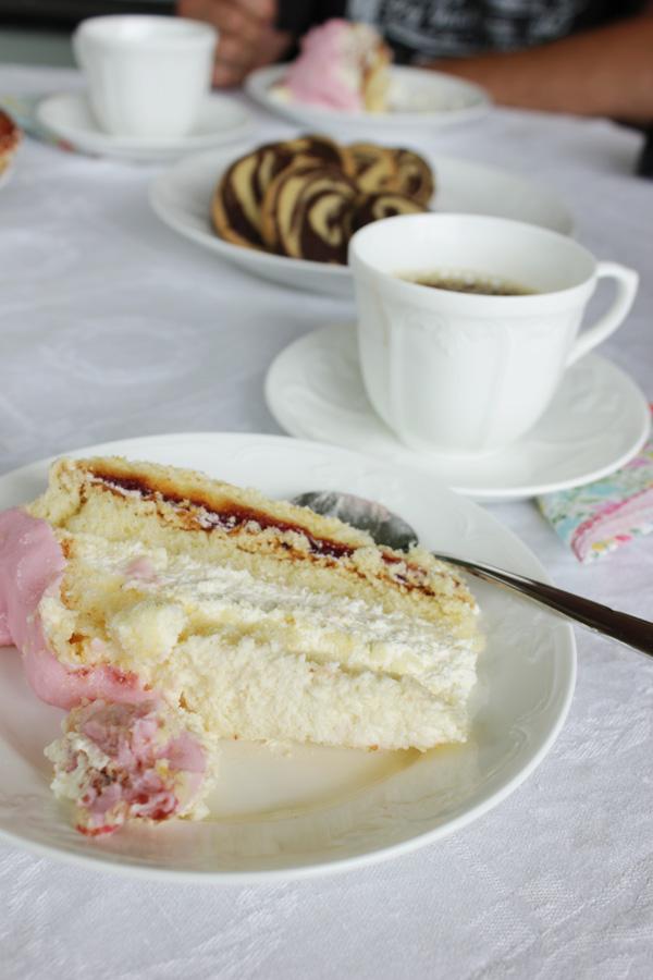 tårta, kalas, kaffe
