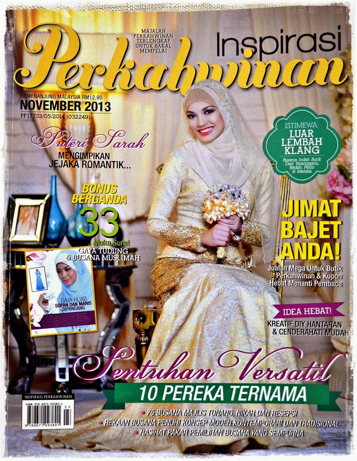 Inspirasi Perkahwinan November 2013