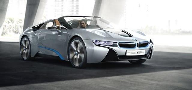BMW i8 Spyder: El futuro roadster ecológico