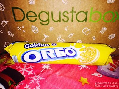Galletas Oreo Golden Degustabox Diciembre 2015