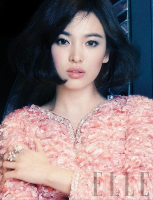 Song Hye Kyo Elle Magazine 2