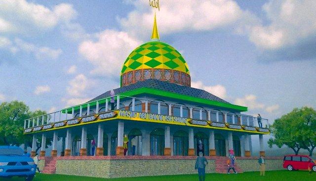 Desain Masjid Raya Abu Bakar Ash-Shiddiq GCA Bandung