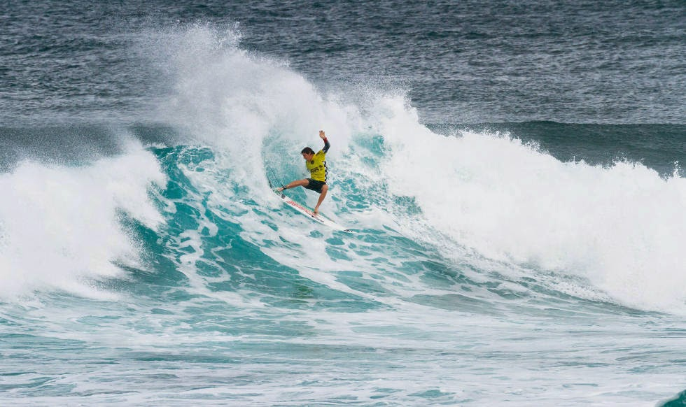 61 Vans World Cup of Sufing 2014 Leonardo Fioravanti Foto ASP