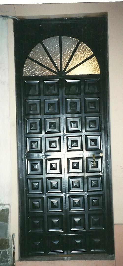 Arte metal puertas de tool panelado - Puertas de metal ...