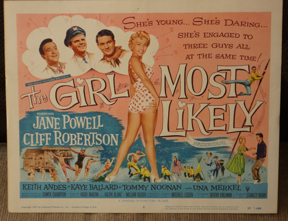 the girl most likely 1958