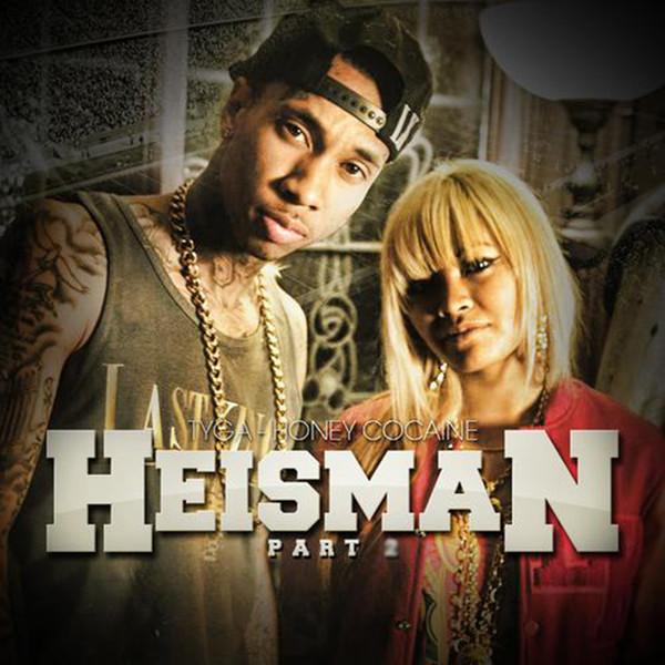 Honey Cocaine - Heisman2 (feat. Tyga) - Single Cover