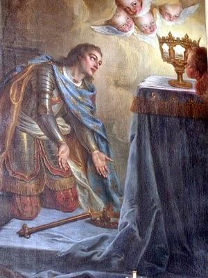 San Luis IX - Rey de Francia