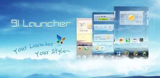 Download 91 Launcher free for Android Mobiles
