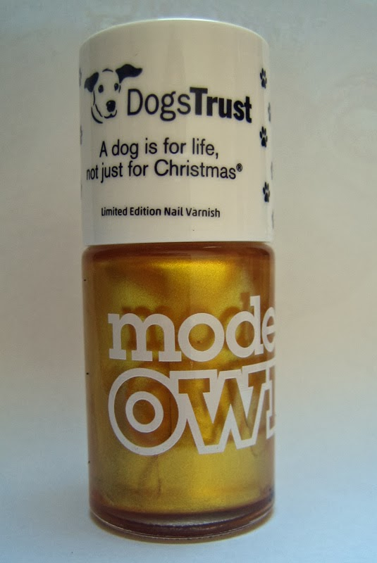 Models Own Dogs Trust Charity Polish '25 Carat Gold'