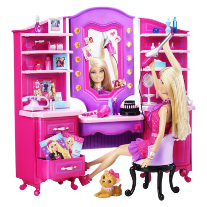 Barbie Vanity Light Up Mirror : Barbie Vanity Playset at Target - The Waverlys
