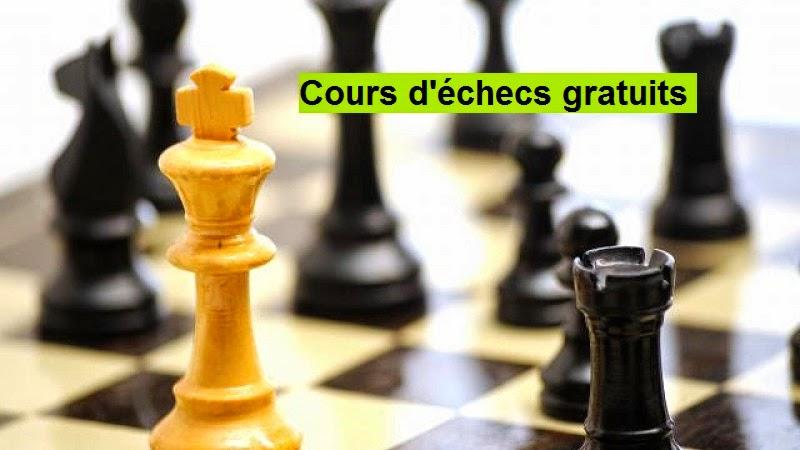 Cours d'échecs gratuits à Vincennes