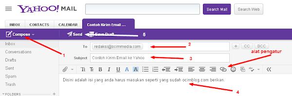Cara Kirim Email Lewat Gmail dan Yahoo