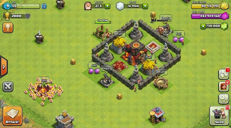 clash of clans how to get barbarian king fast