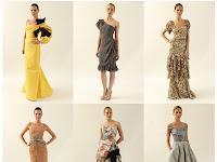 Carolina Herrera Moda Tasarımı Elbise 2014