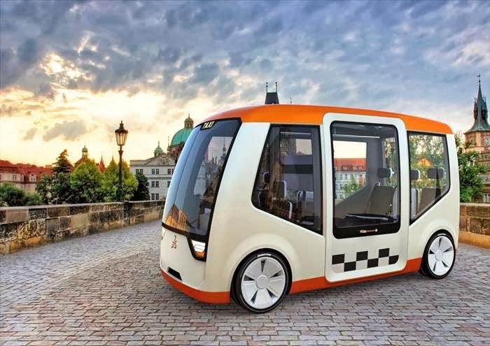 Prague Design Taxi