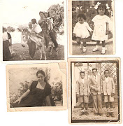 . una prima de mi madre con sus amigas y la cuarta unos amigos de mis . fotos antiguas