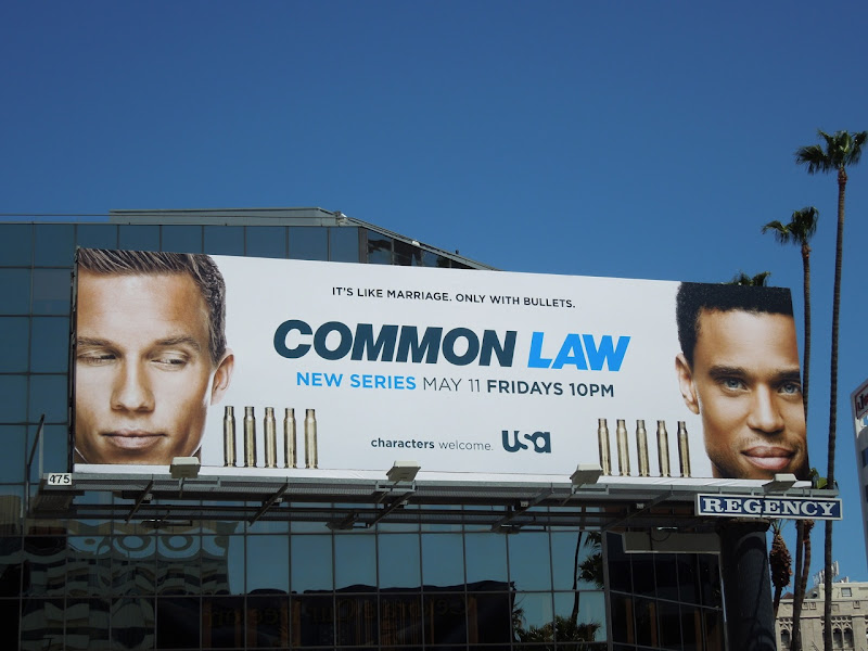 Common Law USA billboard