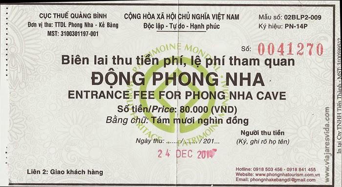 Viajaresvida - Entrada a Phong Nha Cave