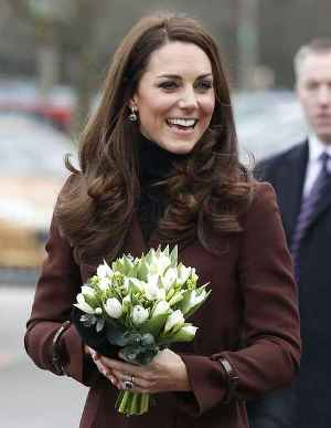 Kate Visits Charities in Liverpool, England