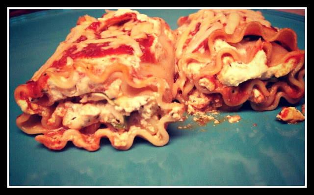 recipe, Spinach Lasagna Roll
