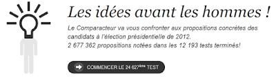le comparacteur de jeremy hureaux et antoine guiral sur politique.com