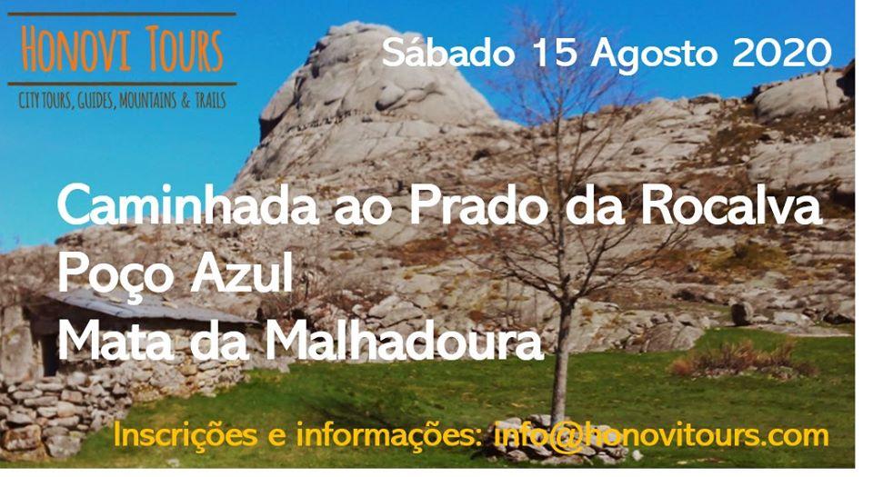 """Caminhada """"Do Arado ao Prado da Rocalva e Poço Azul"""" - 15 de Agosto"""