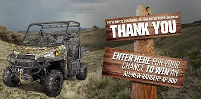 Polaris Ranger ARV Giveaway