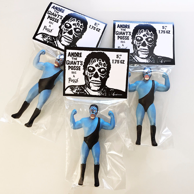 For This Release Junk Fed Has Taken The Wwes Eighth Wonder Of The World And Turned Him Into One Of The Aliens From They Live Though It May Resemble The