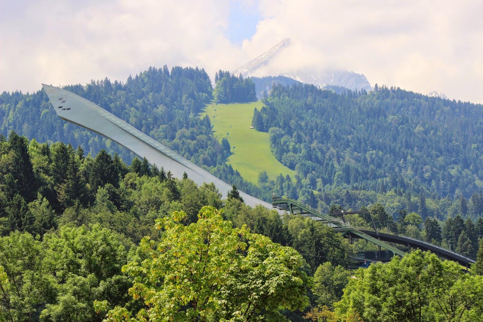 Olympia Schanze Garmisch Partenkirchen
