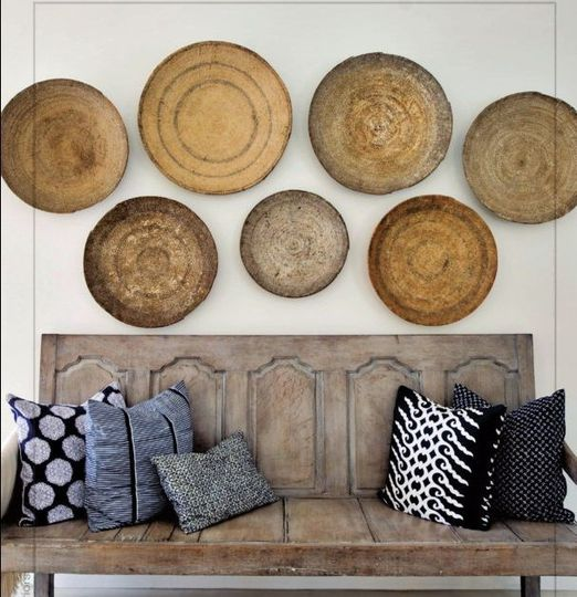 Log home decor love log house pinterest rustic wood house - The Look Basket Wall Display