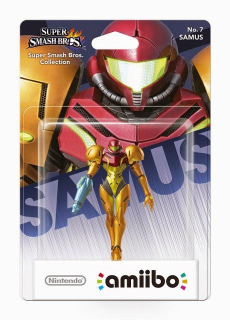 JUGUETES - NINTENDO Amiibo - 7 : Figura Samus (Metroid)   (28 noviembre 2014) | Videojuegos | Muñeco | Super Smash Bros Collection  Plataforma: Wii U