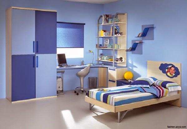 Belle Décoration chambre bleu enfant