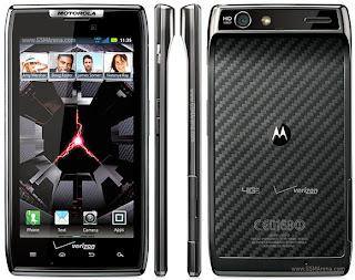 spesifikasi harga ponsel android Motorola Droid  RAZR