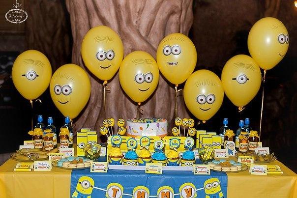 Ideas para fiesta infantil de Minions - Dale Detalles