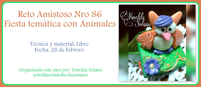 Reto amistoso número 86: animales.