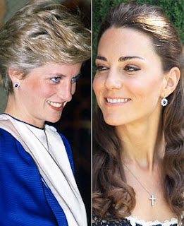 Kate middleton Princess Diana's earrings