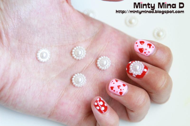 Minty Mina D Strawberry Milk Ok Mv Inspired Nails