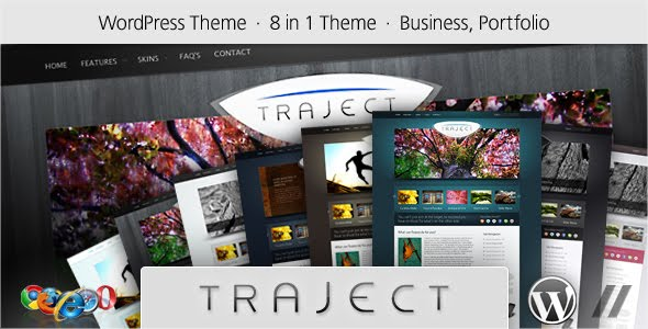 Traject Portfolio WordPress Theme Free Download by ThemeForest.