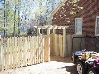 Деревянный забор. Фото 95