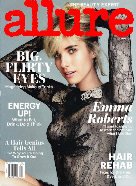Actress, Singer, @ Emma Roberts by Patrick Demarchelier for Allure, 2016