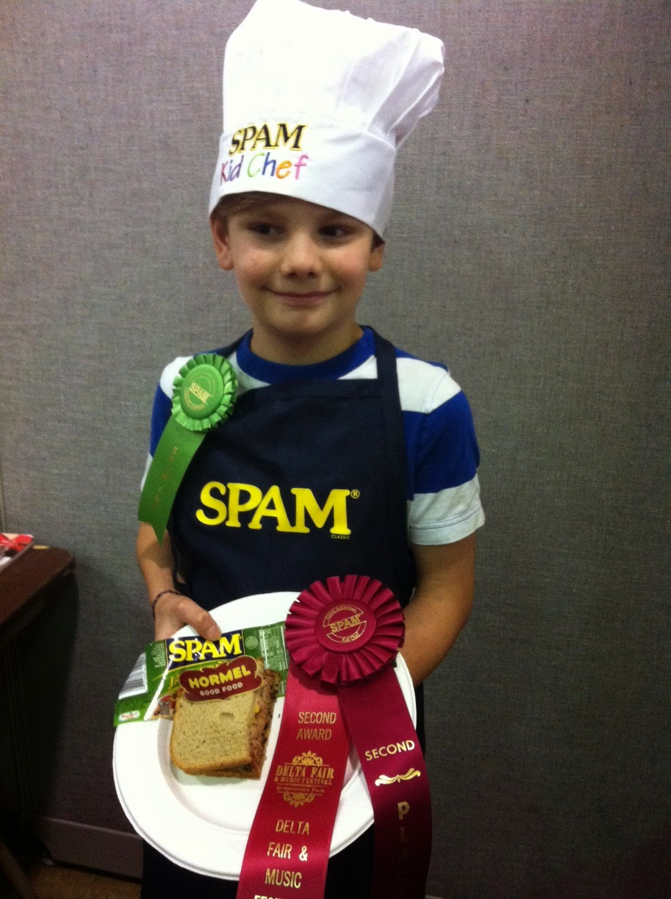 Logan Guleff Masterchef Junior Spam